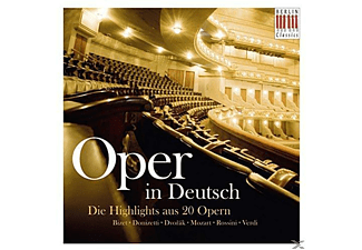 Various - Oper In Deutsch-Die Highlights Aus 20 Opern - (CD)