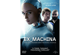 Ex Machina Science Fiction DVD