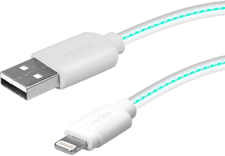 SBS MOBILE Lightning cable with LED battery-charge indicator