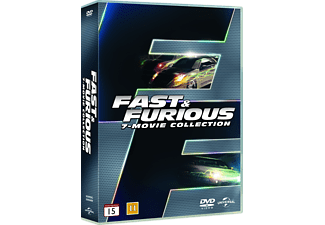 Fast & Furious box 1-7 Action DVD