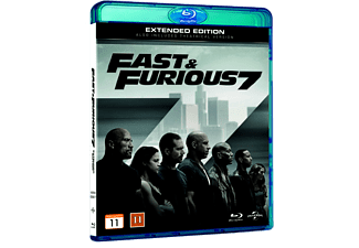 Fast and the furious 7 Action Blu-ray