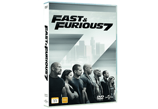 Fast and the furious 7 Action DVD