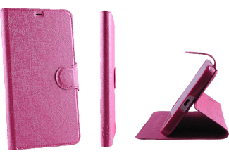 VOLTE-TEL Θήκη Lg Leon H340N/H320 Line Leather-Tpu Book Stand Pink  - (5205308148606 )