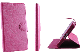 VOLTE-TEL Θήκη Samsung G925 S6 Edge Line Leather-Tpu Book Stand Pink  - (5205308146855 )