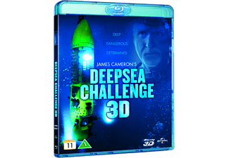 James Camerons deep sea challenge Dokumentär Blu-ray
