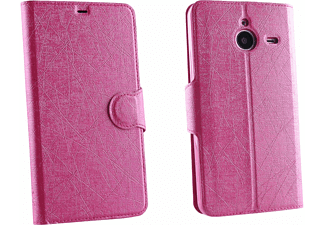 VOLTE-TEL Θήκη Microsoft Lumia 640 XL Line Leather-Tpu Book Stand Pink  - (5205308146022)