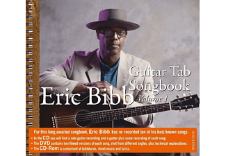 Eric Bibb - Guitar Tab-Songbook [CD]