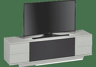 maja lowboard 7749 platingrau akustikstoff schwarz multimedia m bel media markt. Black Bedroom Furniture Sets. Home Design Ideas