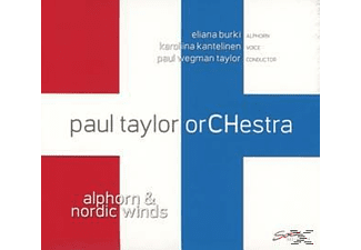 Paul Taylor Orchestra - Alphorn & Nordic Winds - (CD)