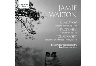 Jamie Walton, Royal Philharmonic Orchestra - Cellokonzerte [CD]