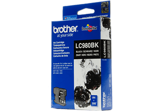 BROTHER LC980BK - Svart