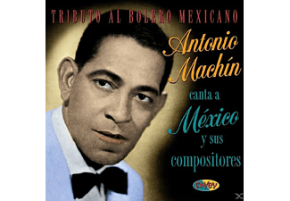 Antonio Machin - Tributo Al Bolero Mexican - (CD)