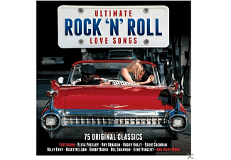 VARIOUS - Ultimate Rock'n'roll Love - (CD)
