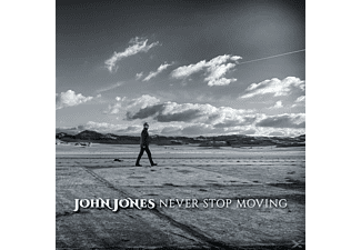 John Jones - Never Stop Moving [CD]