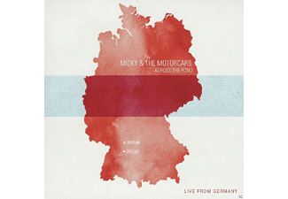 The Micky & Motorcars - Across The Pond-Live From Germany - (CD)