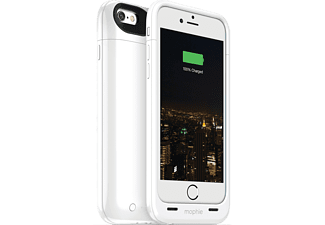 MOPHIE juice pack plus Backcover Apple iPhone 6 Polycarbonat Weiß