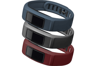 GARMIN Vivofit 2 Bands Downtown (burgundy/ slate/ navy) Large - (010-12336-01)