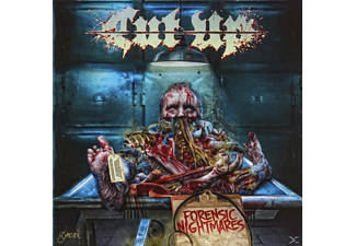 CUT/UP - Forensic Nightmares [CD]