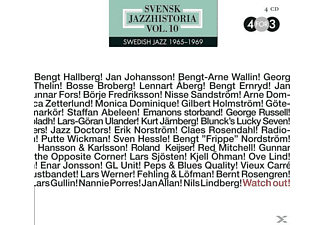 VARIOUS - Swedish Jazz History Vol.10 - (CD)