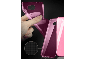 IDOL 1991 Θήκη Samsung J500 Galaxy J5 Ultra Thin Tpu 0.3Mm Pink  - (5205308151132)