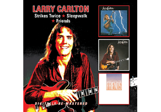 Larry Carlton - Strikes Twice/Sleepwalk/Friends - (CD)