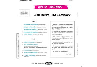 Hallyday,Johnny - Hello Johnny - (CD)