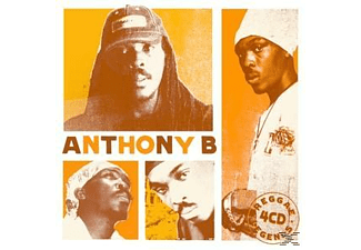 Anthony B - Reggae Legends (4cd Box) - (CD)