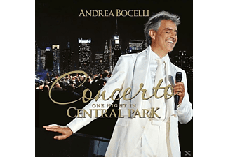 Andrea Bocelli - Concerto: One Night in Central Park (Remastered) - (CD)