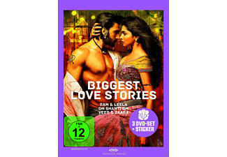 BIGGEST LOVE STORIES - (DVD)