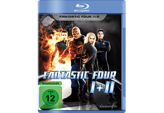 Fantastic Four 1+2 [Blu-ray]
