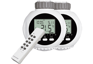 smartwares shs 53002 eu funk thermostation mit fernbedienung wei haustechnik zubeh r media markt. Black Bedroom Furniture Sets. Home Design Ideas