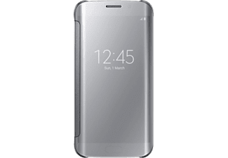 SAMSUNG Clear View Cover Galaxy S6 Edge - Silver