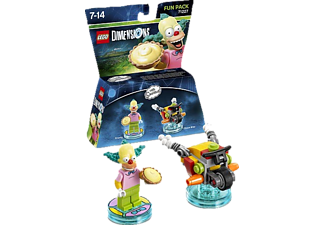 LEGO DIMENSIONS LEGO Dimensions Fun Pack - Simpsons Krusty Spielfiguren