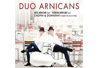 Duo Arnicans, Arta Arnicane, Florian Arnicans - Sonatas For Cello And Piano [CD]