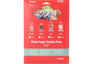 CANON Photo Paper Variety Pack A4 + 10x15cm VP-101 - (0775B079)