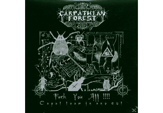 Carpathian Forest - Fuck You All - (CD)