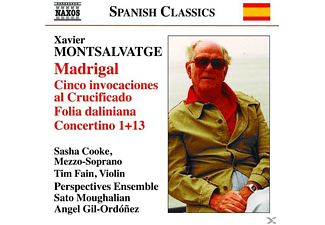 Sasha Cooke, Cooke/Fain/Gil-Ordonez - Madrigal/Cinco Invocaciones/+ - (CD)