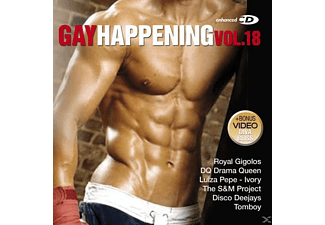 VARIOUS - Gay Happening Vol.18 - (CD)
