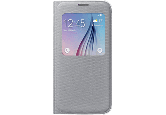 SAMSUNG S-View Cover Fabric Galaxy S6 - Silver