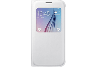 SAMSUNG S-View Cover PU Galaxy S6 - Vit