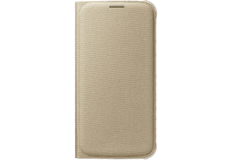 SAMSUNG Flip Wallet Fabric Galaxy S6 - Guld