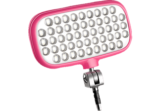 METZ mecalight LED-72 smart Videoleuchten, Pink