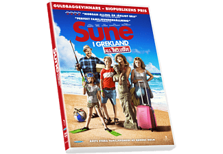 Sune i Grekland: All Inclusive Komedi DVD