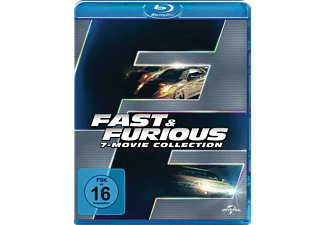 Fast & Furious - 7 Movie Collection - (Blu-ray)