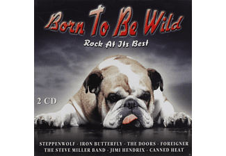VARIOUS - Born To Be Wild-Rock At Its Best - (CD)