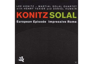 Martial Sonal, Lee Und Martial Solal Konitz - European Episode-Impressive Rome - (CD)