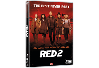 Red 2 Action DVD