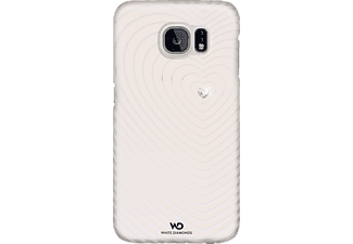 WHITE DIAMONDS Heartbeat Backcover Samsung Galaxy S6 Polycarbonat (PC) Weiß