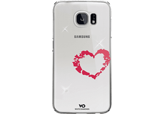 WHITE DIAMONDS Lipstick Heart, Samsung, Backcover, Galaxy S6, Polycarbonat (PC), Crystal