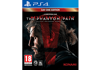 Metal Gear Solid V: The Phantom Pain Day One Edition PS4